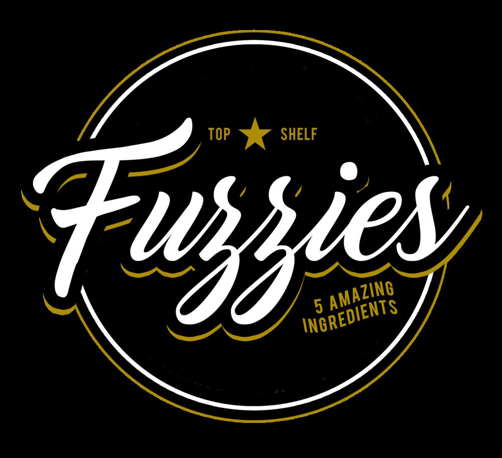 Fuzzies Logo Cannabis Brand