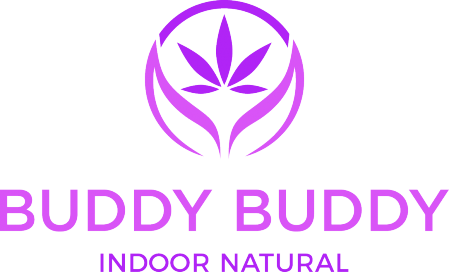 Buddy Buddy Indoor Natural Cannabis Brand Logo