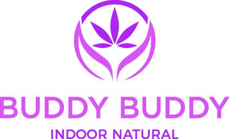 Buddy Buddy Indoor Natural Cannabis Brand Logo